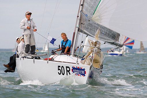 Front page girls – Cowes Week