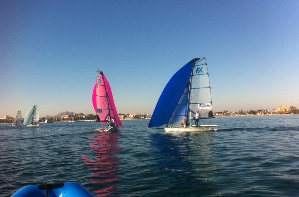 Final training in Murcia