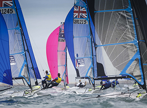 Tricky end to Sail for Gold Regatta