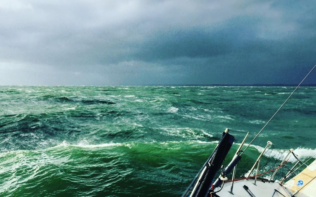 Stormbound and Seasick!